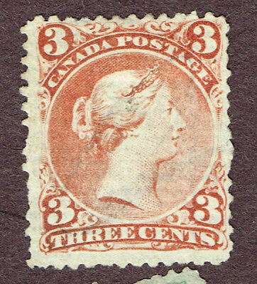Canada Large Queen 33 Laid Paper  Fine  (Ovr15,3