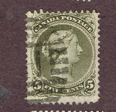 Canada 26 Large Queen Fine H Cancel (Ovr15,3