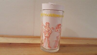 Vintage Archie Comics Jelly Glass 1971 - Betty & Veronica Fashion Show