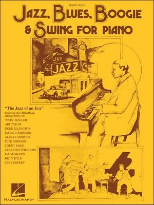 Hal Leonard Jazz, Blues, Boogie & Swing for Piano Solo