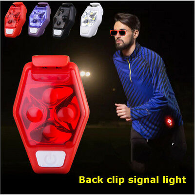 Outdoor Sport LED Night Running Jogging Cycling Safety Warning LED Lamp Light