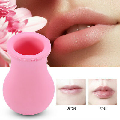 Silicone Lady Lip Natural Plump Bigger Lip Plumper Enlarger Suction Tool dh