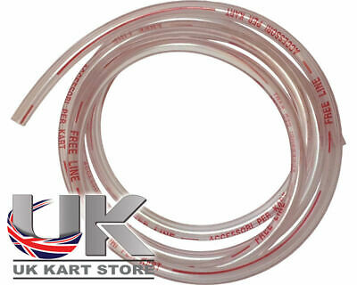 Freeline Petrol / Fuel Pipe 6mm x 6m Go Kart Karting Race Racing