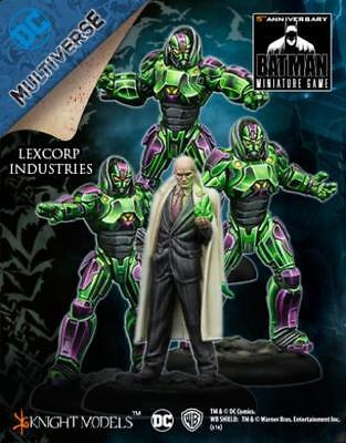 Knight Models DC Universe Figure Lexcorp Industries Pack MINT