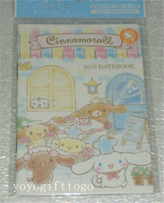 Sanrio Cinnamoroll Dog 2018 Year Date Book