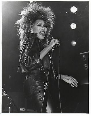 Tina Turner Close Up Photo 1985 Unique Unreleased Image Huge 10Inch Hand Printed