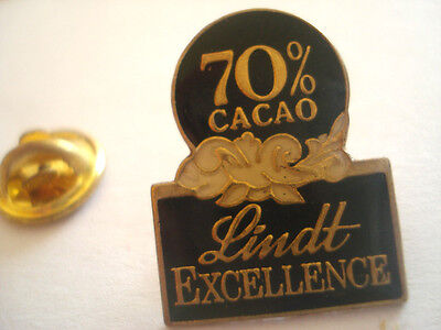 Pins Cacao Lindt Excellence Marque Chocolat Suisse