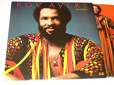 Roy Ayers Nm Orig Usa Lp Lets Do It Funk Soul |21