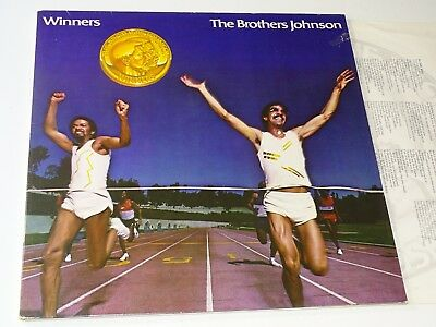The Brothers Johnson Nm Lp Quincy Jones Winners Foc |59