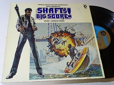 Shaft's Big Score Soundtrack Blaxploitation Lp Shaft Funk Vg |65