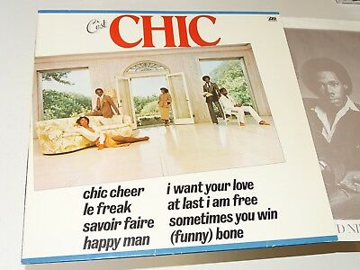 Chic Nm Lp C'est Chic Le Freak I Want Your Love Funk Disco |80