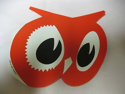 Vintage West Germany Red Owl Store Owl Sewing Kit Paper