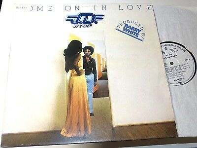 Jay Dee J.d. Nm Lp Come On In Love Rare Groove Musterplatte 1974 Soul |100