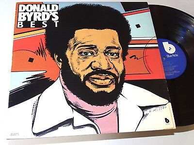 Donald Byrd Blue Note Orig Usa Lp Best Of Funk Fusion Mizell Prod.  78