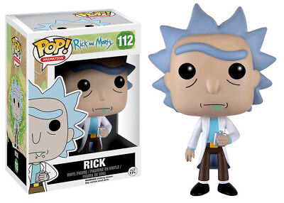 Rick and Morty Animated TV Series Rick Vinyl POP! Figure Toy #112 FUNKO NEW MIB