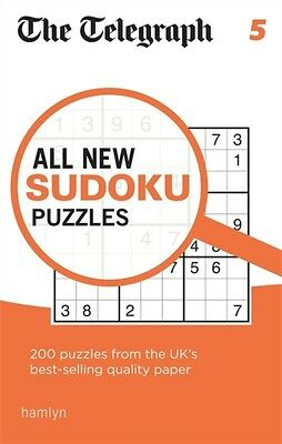 The Telegraph All New Sudoku Puzzles 5 (The Telegraph Puzzle Book...