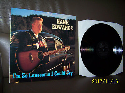 Hank Edwards LP  I'm So Lonesome I Could Cry