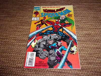 The lethal foes of spider man marvel comics 1st issue Sept. 1993