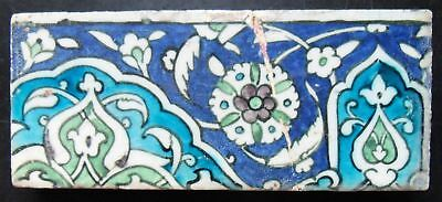 TH3147 Ottoman Islamic Iznik Damascus Syrian Tile 16th/17th Century
