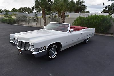 1970 Cadillac DeVille Convertible 472CI V8 Auto A/C Power Everything!