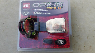 Archery Hunting Sight,strong,reliable,accurate. Adjustable.5 Fluro Pin.level