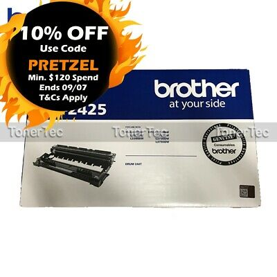 Brother Genuine DR2425 Drum Unit->HL-L2350DW/L2375DW/L2395DW/L2750DW/L2730DW 12K