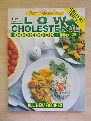 Low Cholesterol Cookbook #2~Recipes~Select Books~64pp L/F P/B