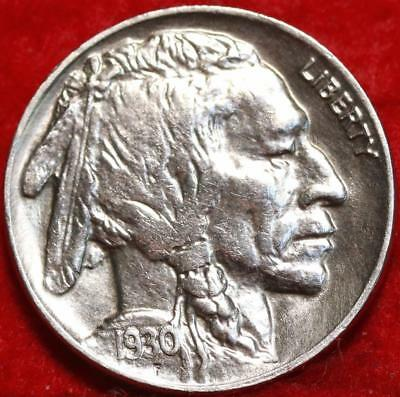 Uncirculated 1930 Philadelphia Mint  Buffalo Nickel Free Shipping