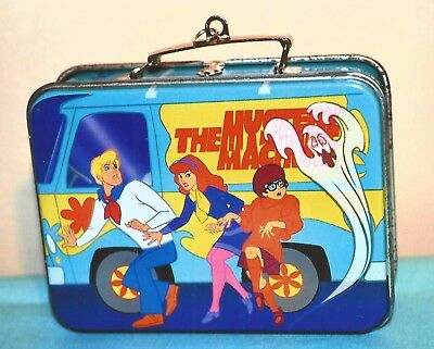19999 Hallmark Christmas Scooby Doo Lunch Box With Thermos  Mint In Box