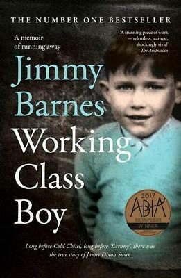 NEW Working Class Boy By Jimmy Barnes Paperback Free Shipping