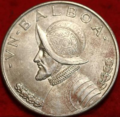 1947 Panama 1 Balboa Silver Foreign Coin Free S/H