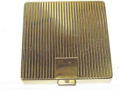 Vintage Women's Gold Plated Powder Compact  By Coty