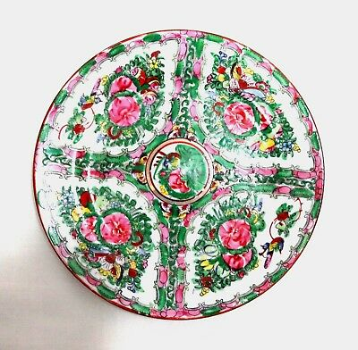 Antique Chinese Porcelain Plate Dish Famille Rose 10 inch