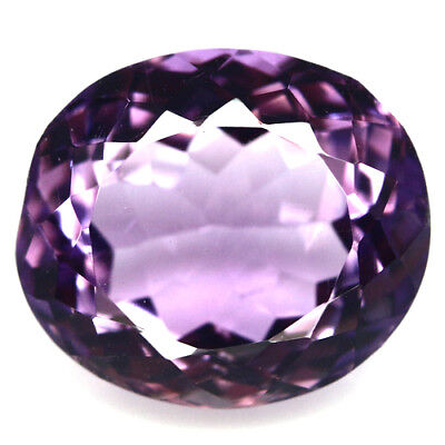 10.86 Ct Aaa! Natural! Purple Clr Change To Pink Amethyst Oval Brazilian