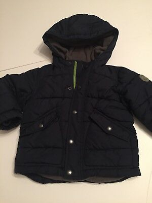 Boys Aged 18-24 Months Warm Winter Coat From Gap