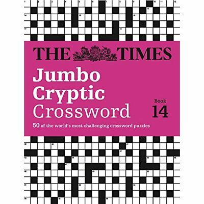 The Times Jumbo Cryptic Crossword Book 14 - Paperback NEW The Times Mind  2015-0