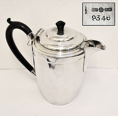 Elegant Antique Silverplate Hot Water Jug - Good Quality and in Good Condition