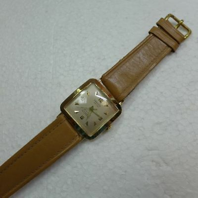 Provita Vintage Herrenuhr in 585 Gold, New Old Stock, ungetragen