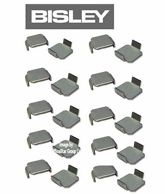 20 Bisley Shelf Clips - Set of Fittings for Cupboards/Cabinets Ref 8589 ¸STO1788