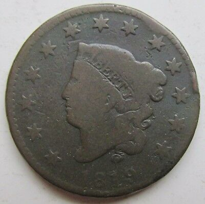 1819 United States Large Cent Coronet Head