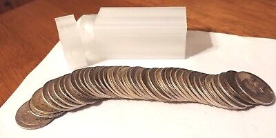 Roll Washington Quarters 90% Silver 40 Coins in the Tube Circulated