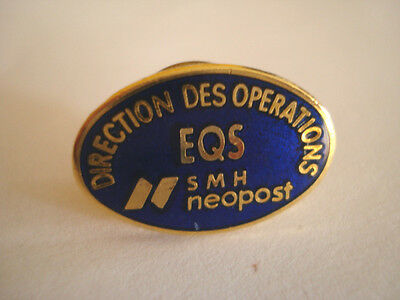 Pins Rare Eqs Smh Neopost Direction Des Operations Opus Alcatel