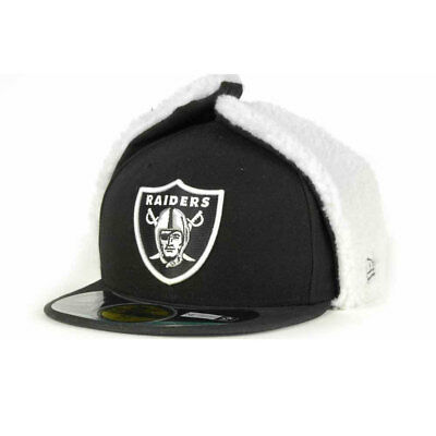 Oakland Raiders NFL 59FIFTY [5950] Dog Ear Fitted Cap