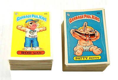Lot of (160) Different 1985 1986 Topps Garbage Pail Kids 2nd 3rd Series Cards