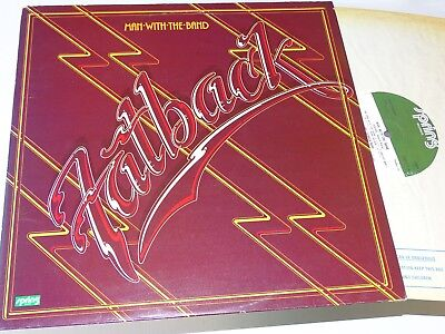 Fatback Band Nm Uk 1977 Lp Man With The Band Funk |110