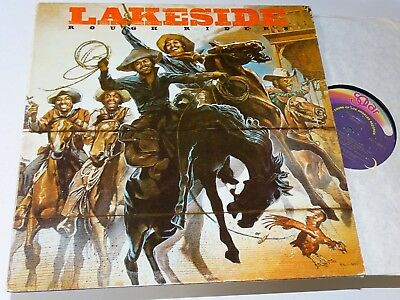 Lakeside Orig Usa Solar Funk Lp Rough Riders Foc Vg+ |111