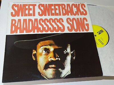 Sweet Sweetback's Baadasssss Song Nm Lp Soundtrack Van Peebles |119