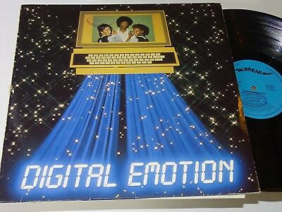 Digital Emotion Lp Same Italo Disco Funk Electro Synth Break Rec |133