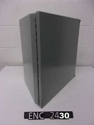 """NEW OTHER Hoffman C-16C16 Steel 16 3/8""""x16.5""""x11.5"""" Consolet Enclosure (ENC2430)"""