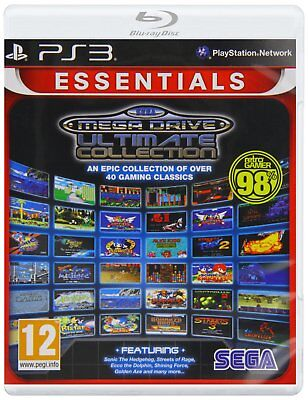 SEGA Mega Drive: Ultimate Collection- Essentials for PlayStation 3 PS3 BRAND NEW